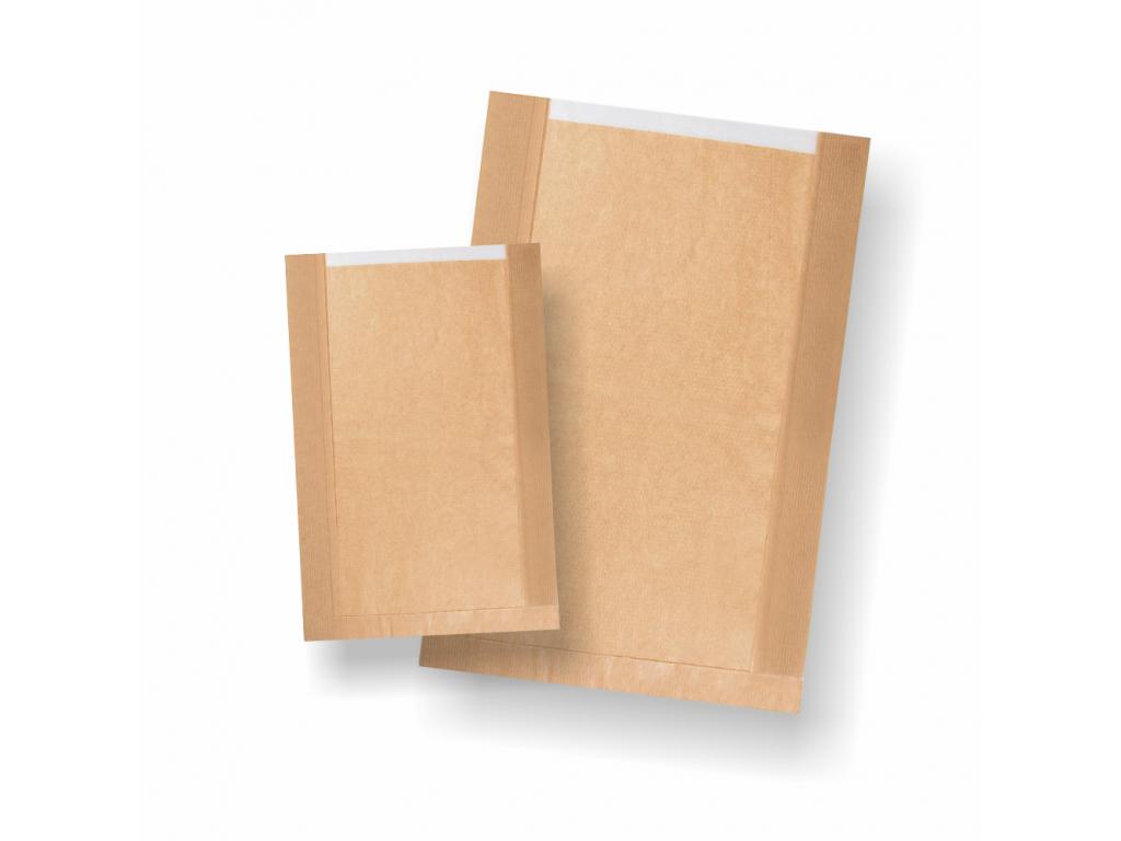 Hnedé papierové vrecká s okienkom 1000ks/bal
