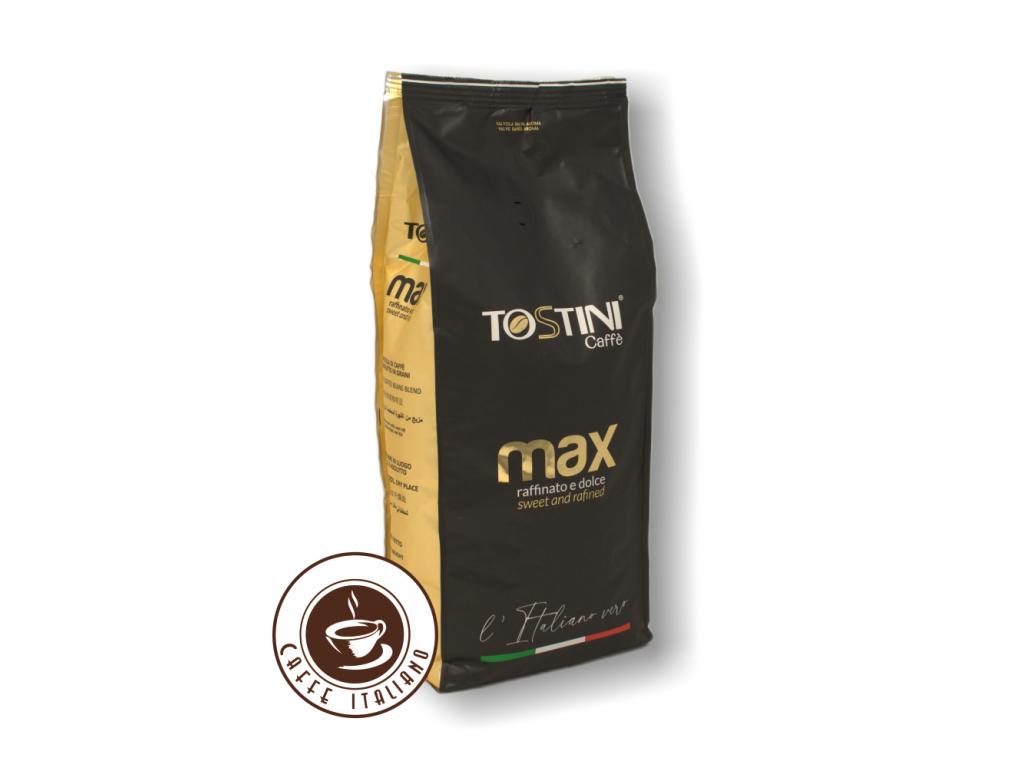 Zrnková káva Tostini Miscela Max 1kg