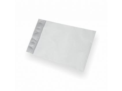 Plastové obálky biele 75µm čiastočne priehľadné