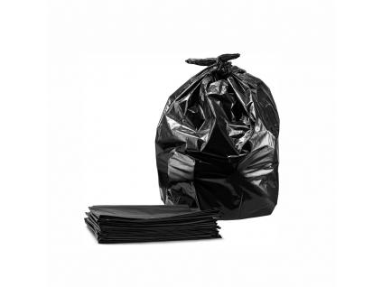 LDPE Vrecia na odpad čierne voľne ložené hrubé kusové