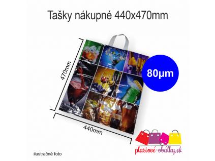 Tašky nákupné extra pevné vzorované
