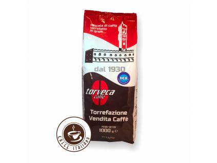 Torveca Dek bezkofeínová zrnková káva 1kg