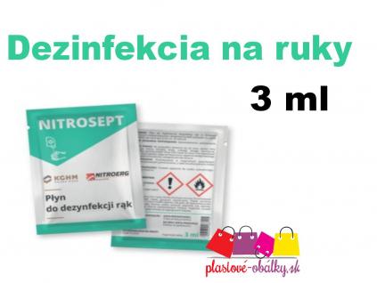 Dezinfekcia 3ml