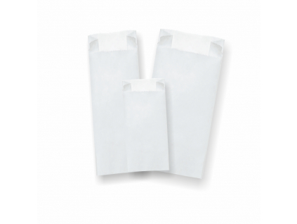 Biele papierové vrecká 1000ks/bal