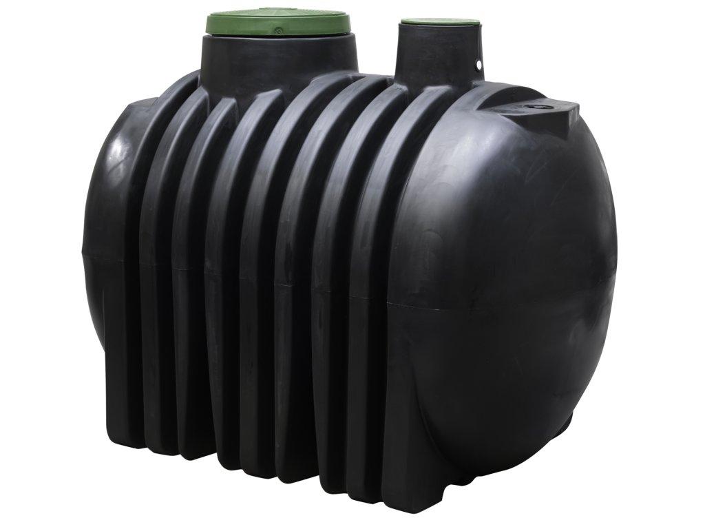 Podzemna Plastová Nádrž Na Dážďovú Vodu 4000 Litrov