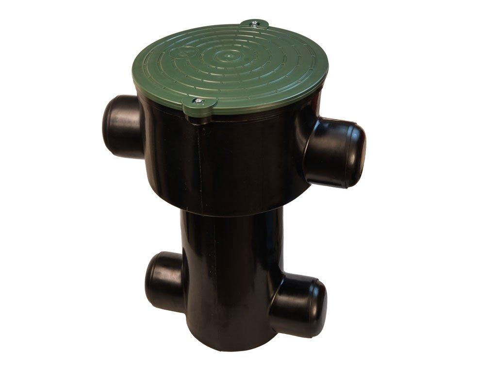 Lapač strešných splavenín pre dažďovú vodu