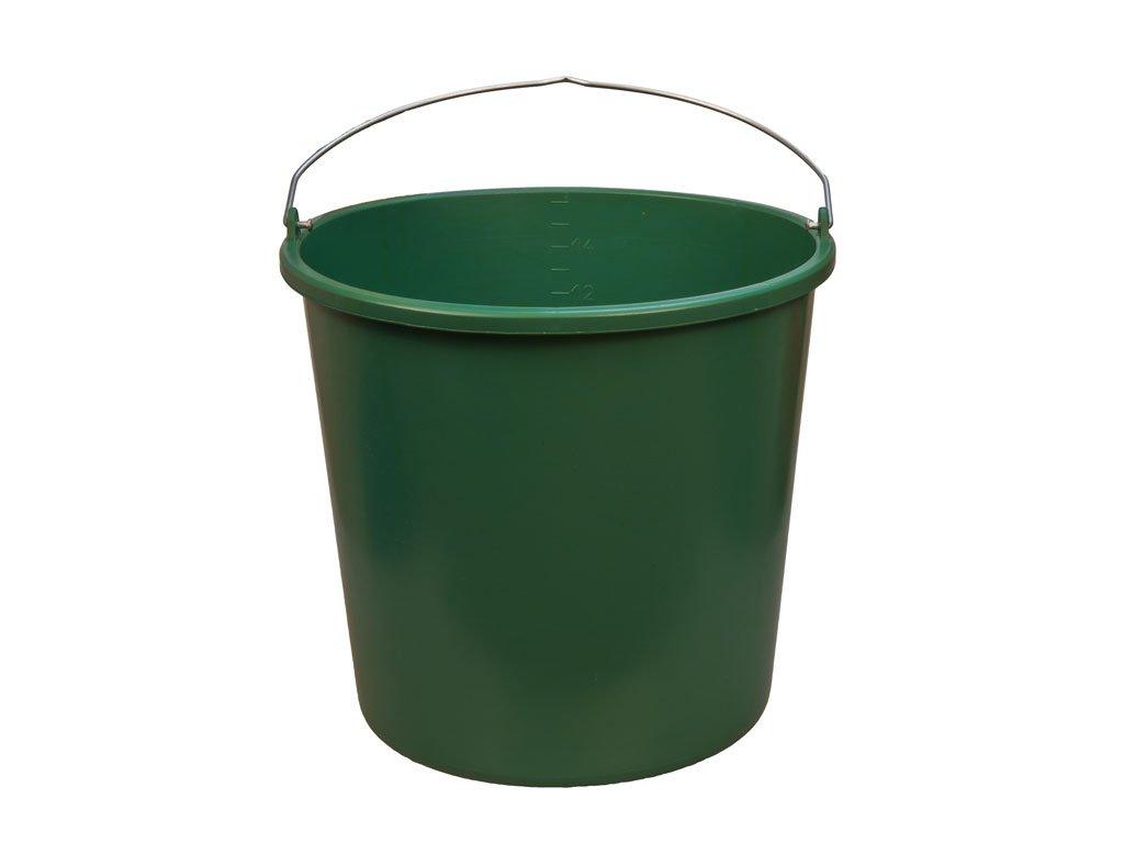 Plastové Vedro Zelené 16L