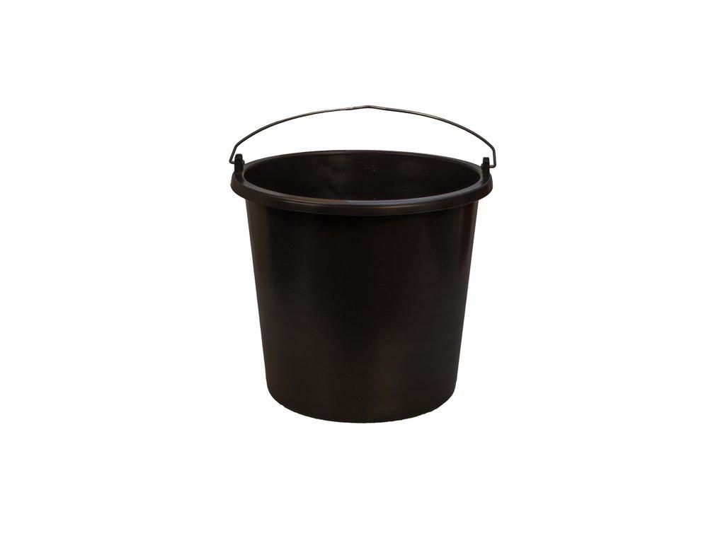 Plastové vedro čierne 5L