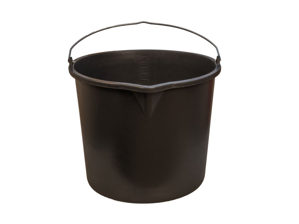 Plastové vedro čiern