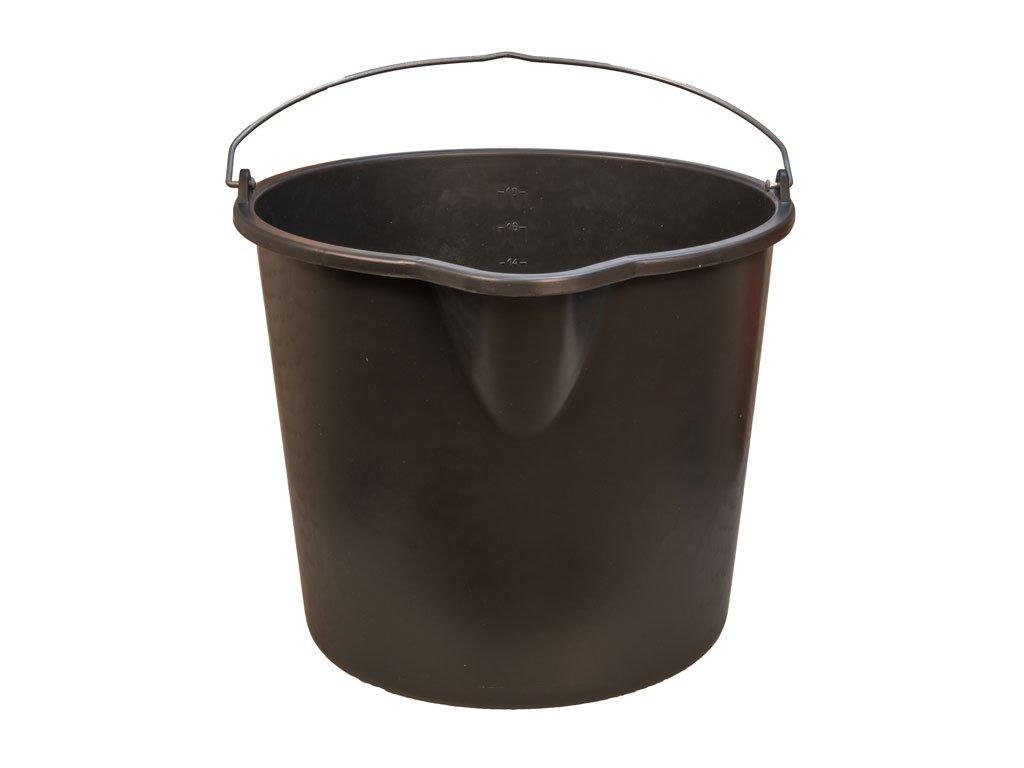 Plastové vedro čierne 20L 1
