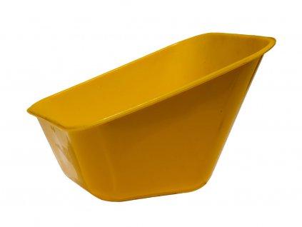Plastová Mysa Na Fúrik Žltá