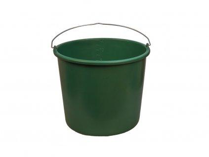 Plastové Vedro Zelené 12L