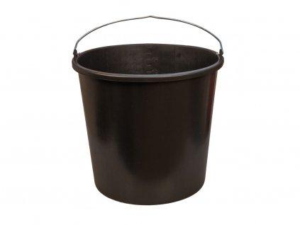 Plastové vedro čierne 1