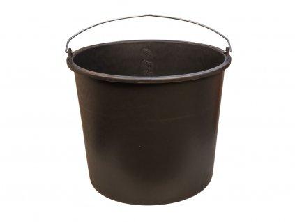 Plastové vedro čierne 20L 2