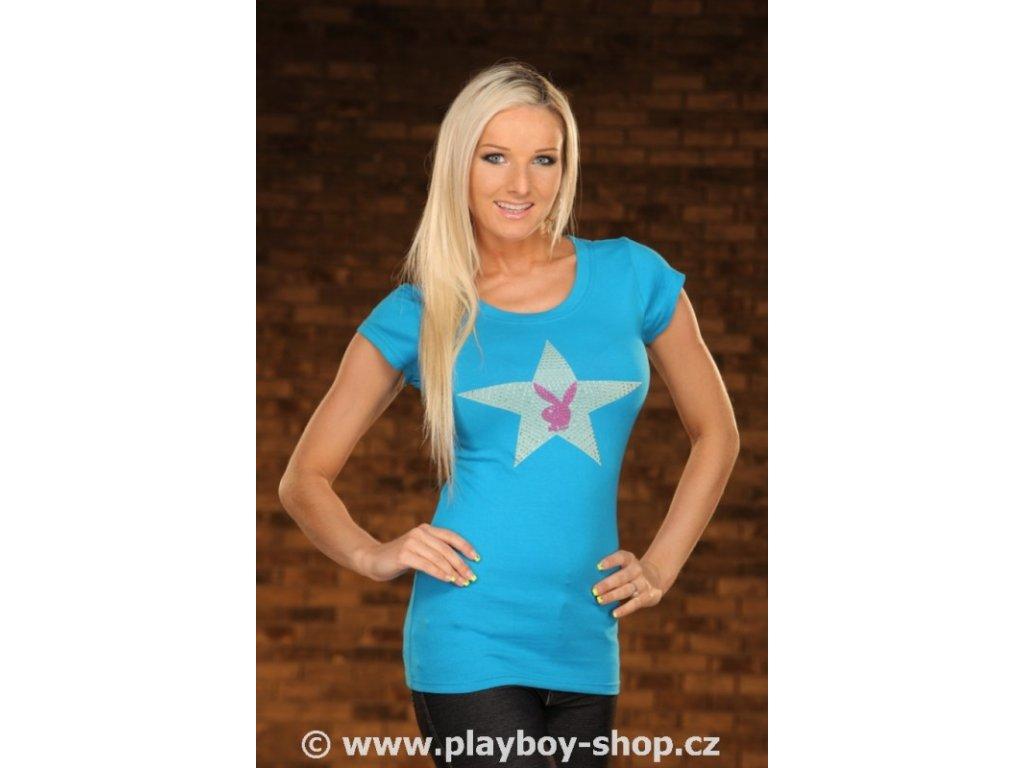 Dámské tričko Playboy s hvězdou