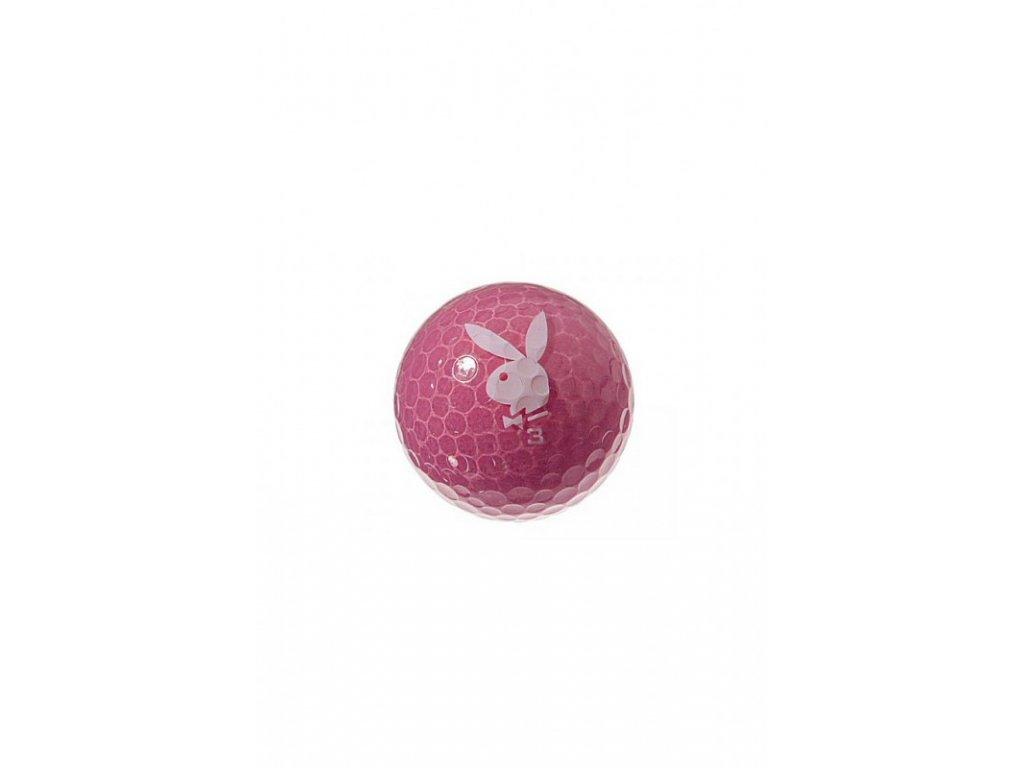 Golfové míčky se zajíčkem růžové