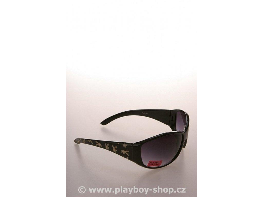 Klasické brýle Playboy černé