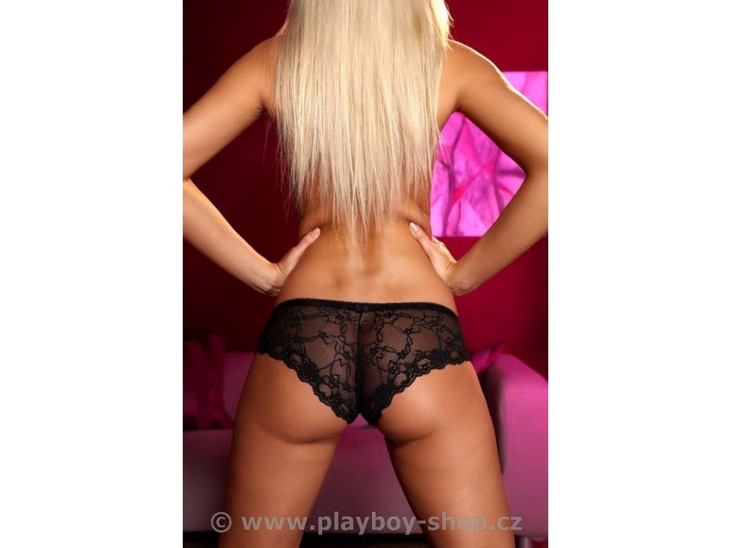 Krásné kalhotky s krajkovaným pozadím