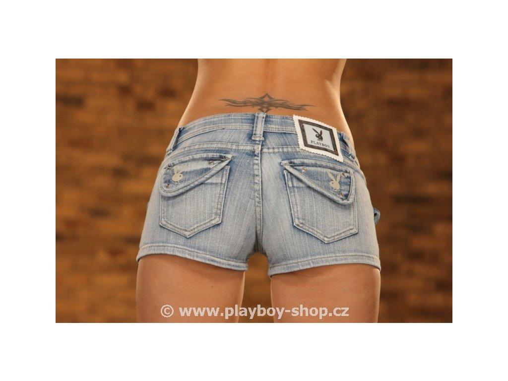 Kraťasy jeans Playboy
