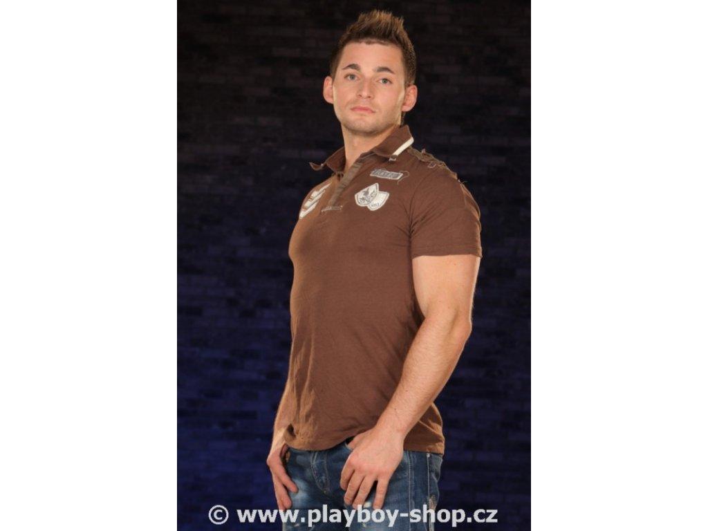 Pánské tričko Playboy s límečkem