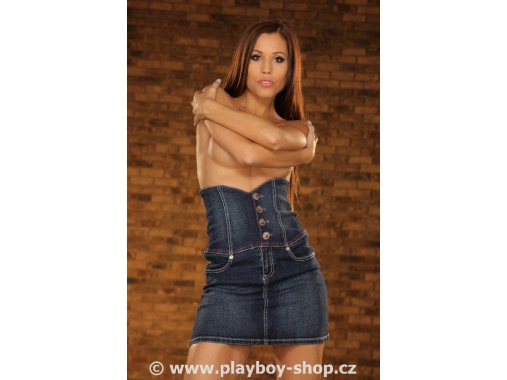 Playboy sukně s vysokým pasem