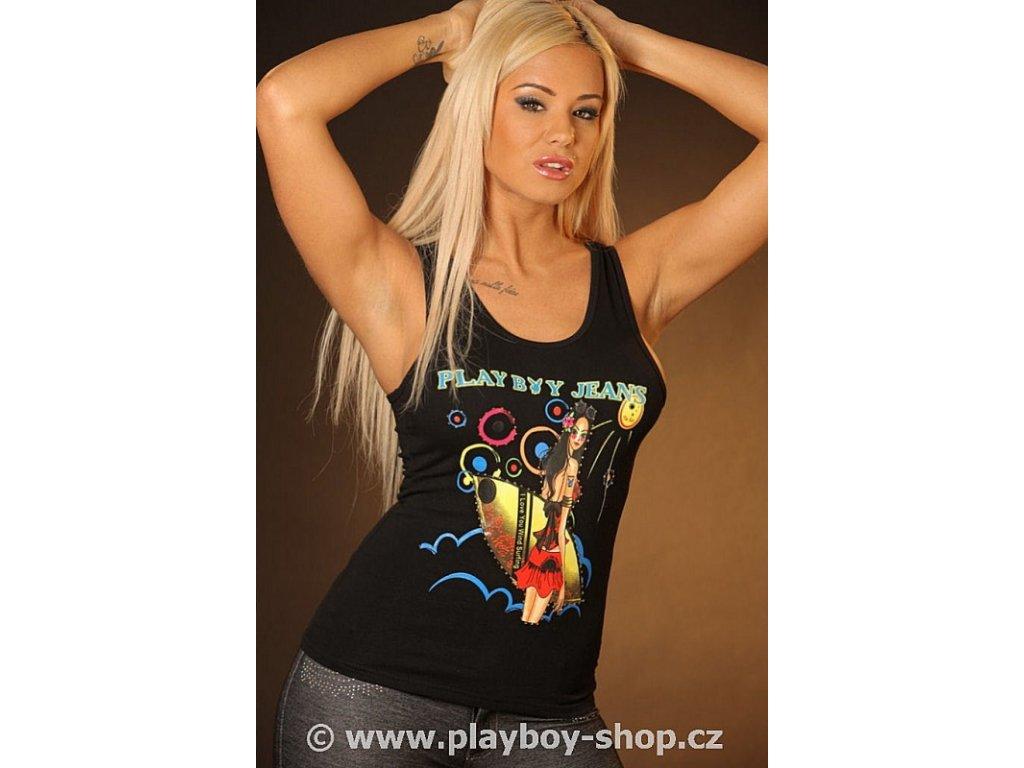 Tílko strečové Playboy Jeans Surf