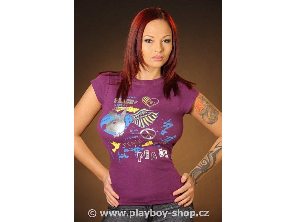 Tričko Playboy Peace s křídly