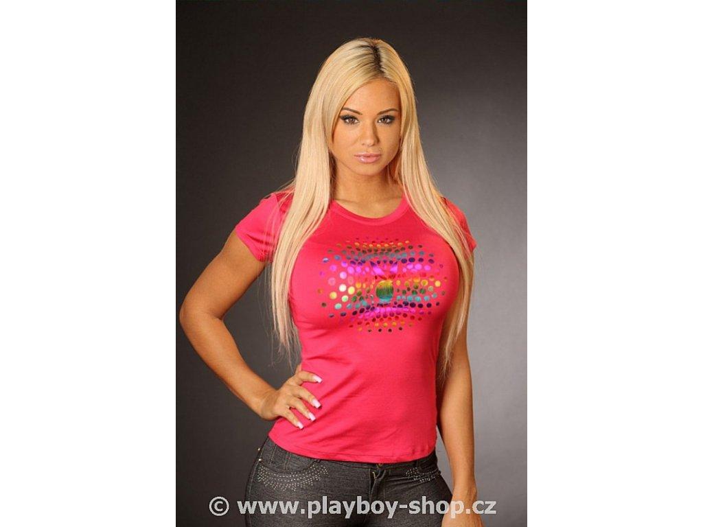 Tričko Playboy se zajíčkem v kruhu