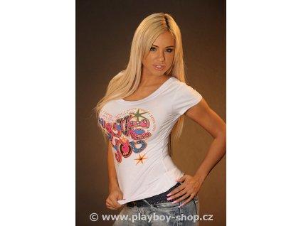 Dámské tričko Love You s hvězdičkami