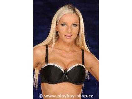 Podprsenka s nápisem Playboy na lemu košíčků