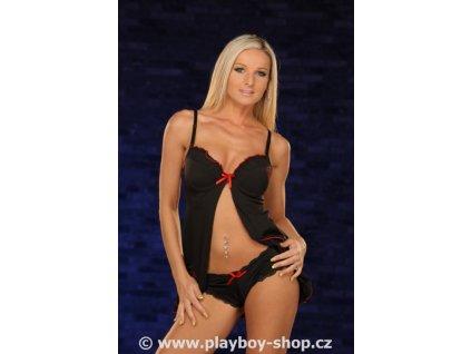 Souprava Playboy vpředu sexy rozevřená