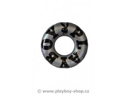 Stříbrný nafukovací kruh