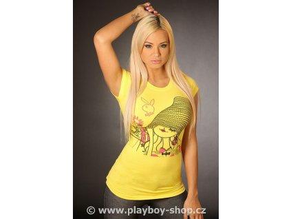 Tričko Playboy s dámou