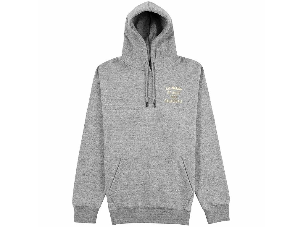 k1x One Court At A Time Hoody Grey Heather 1