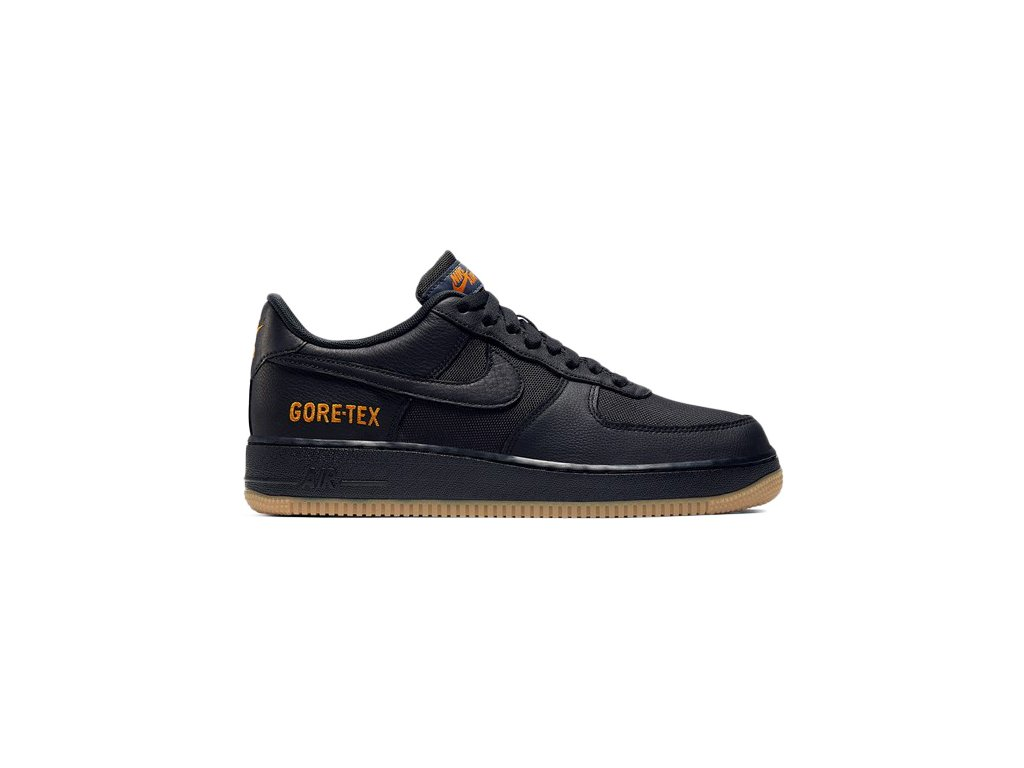 Nike Air Force One Low Gore Tex Black Light Carbon