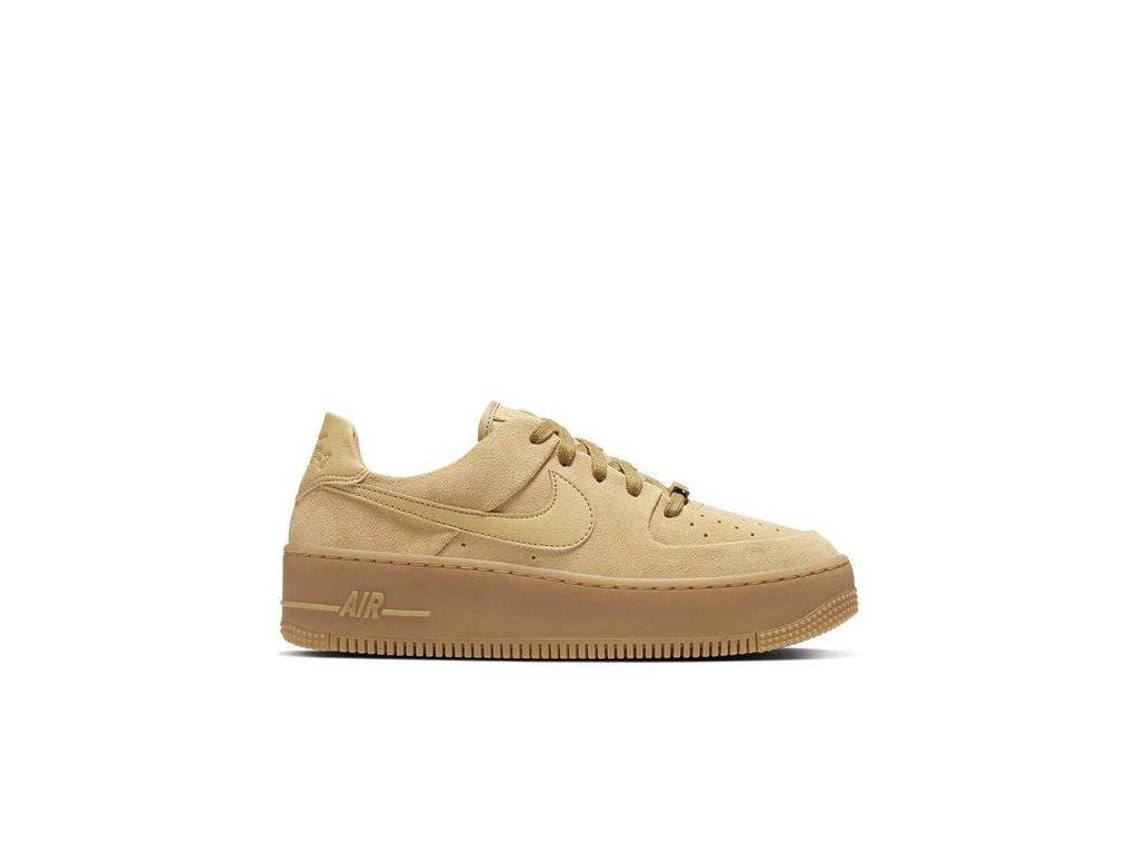 Nike Air Force 1 Sage Low Club Gold (W)