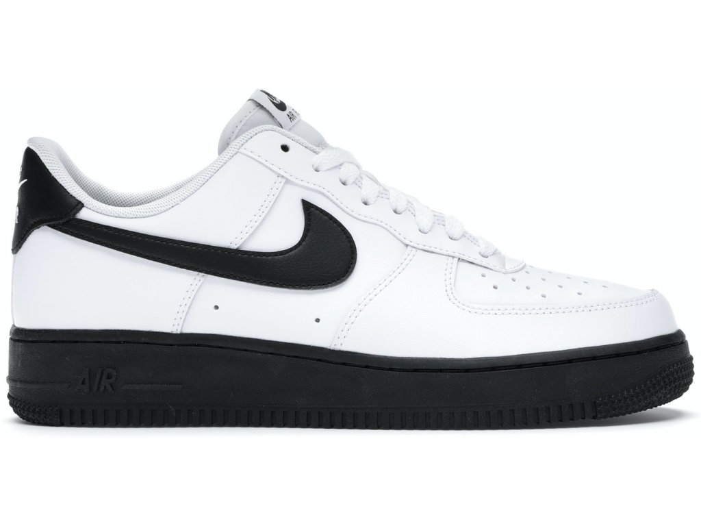 Nike Air Force 1 Low White Black Midsole Product