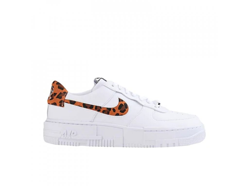Nike Air Force 1 Low Pixel SE White Leopard (W)