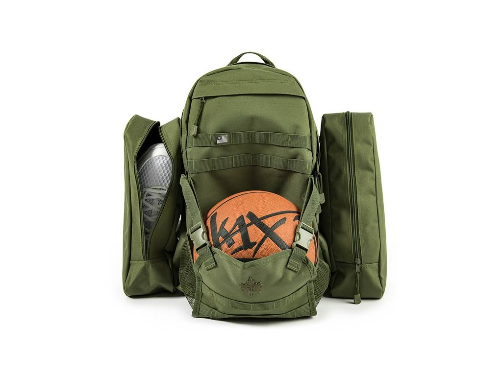 1injr k1x On a Mission Backpack olive 1