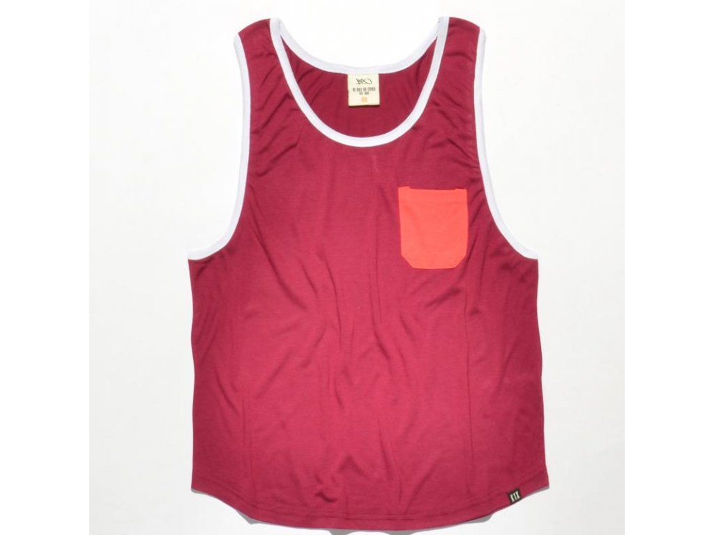 wmns loose pocket tank top
