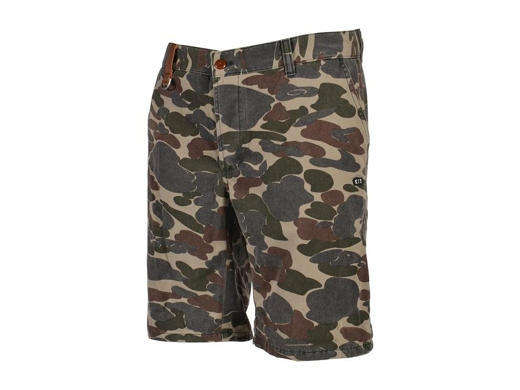 smokin camo chino shorts
