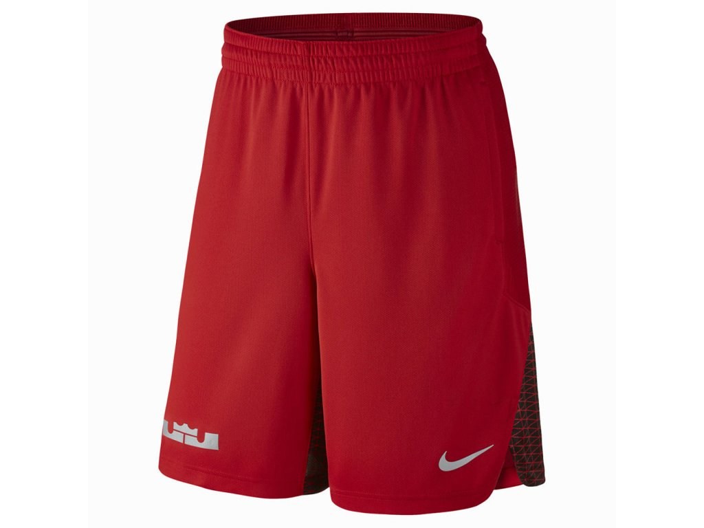NIKE LEBRON HYPERELITE PROTECT SHORTS - RED / GREY / BLACK