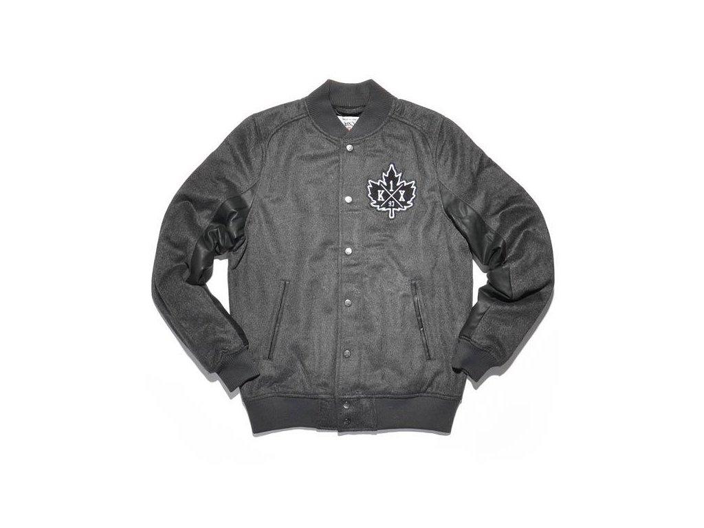 vintage crest varsity jacket