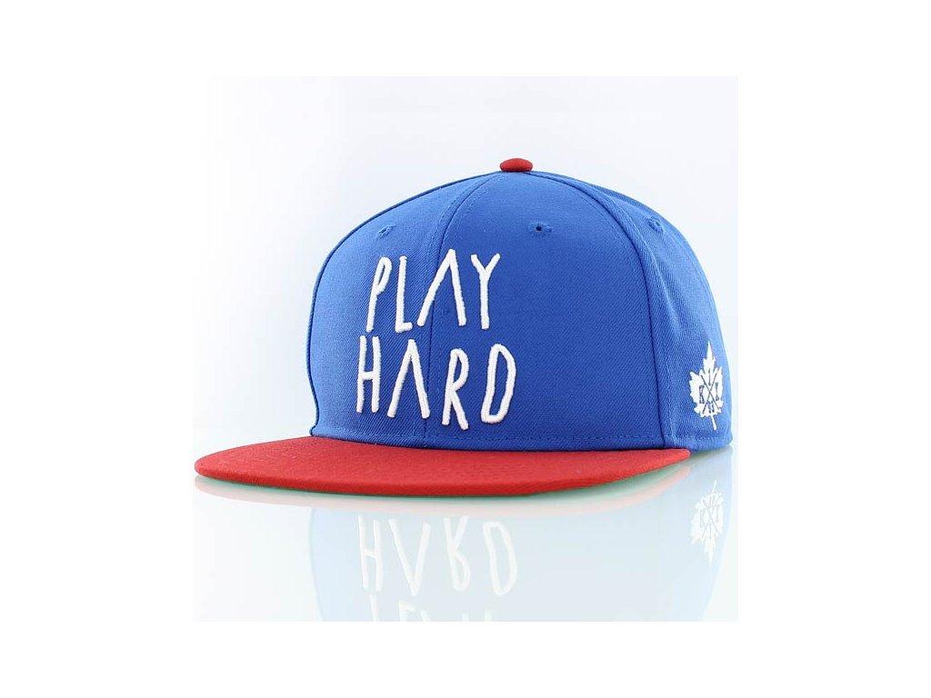 play hard snapback cap