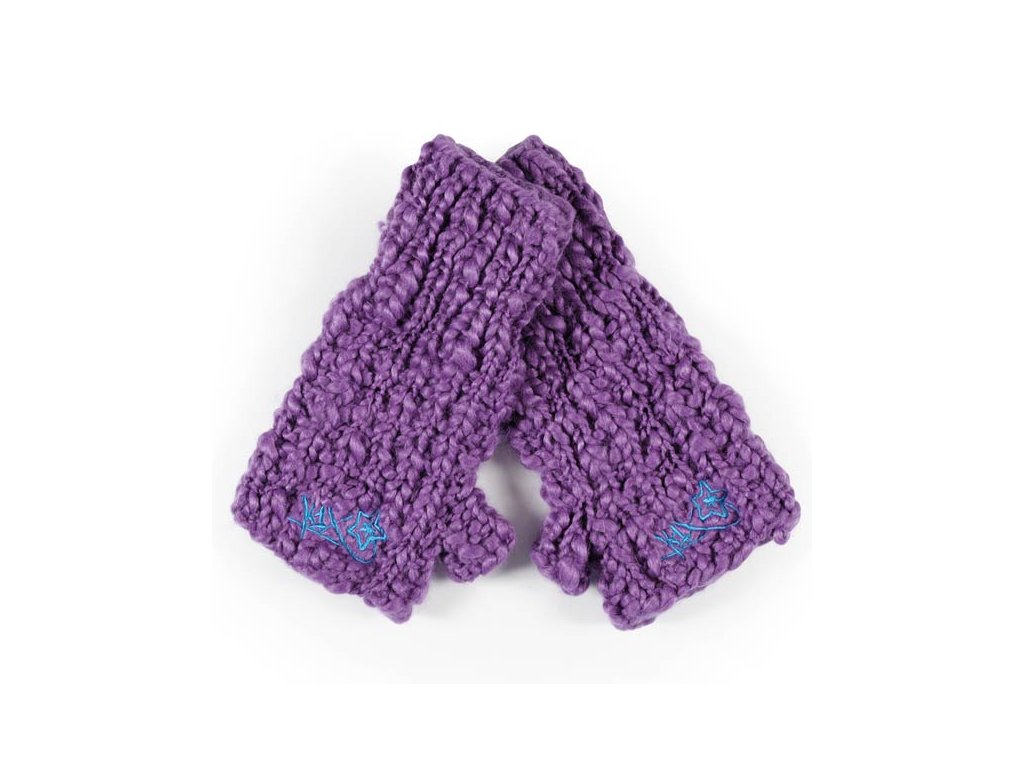shorty loose mitts purple