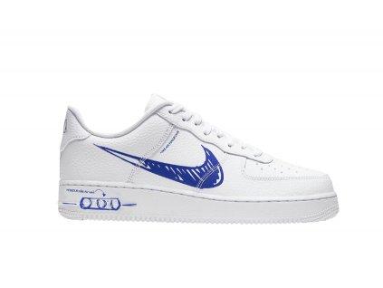 Nike Air Force 1 Low Sketch White Royal