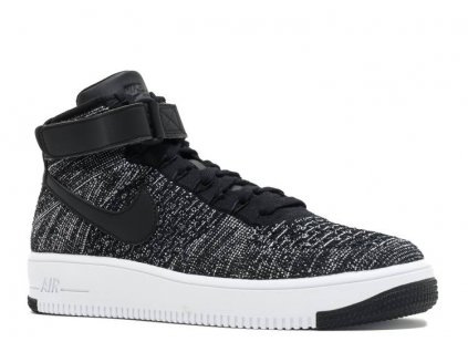 Nike Air Force 1 Mid Flyknit Oreo White
