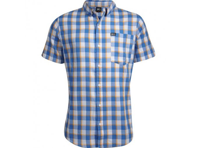 ny check short sleeve shirt