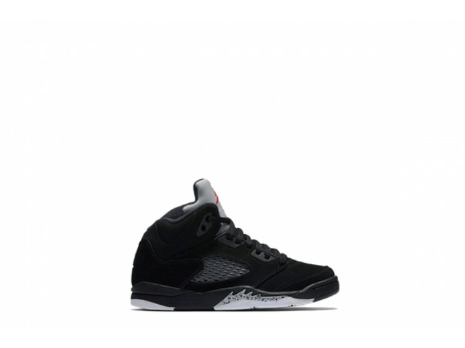 AIR JORDAN 5 RETRO BP (BLACK / SILVER METALLIC)