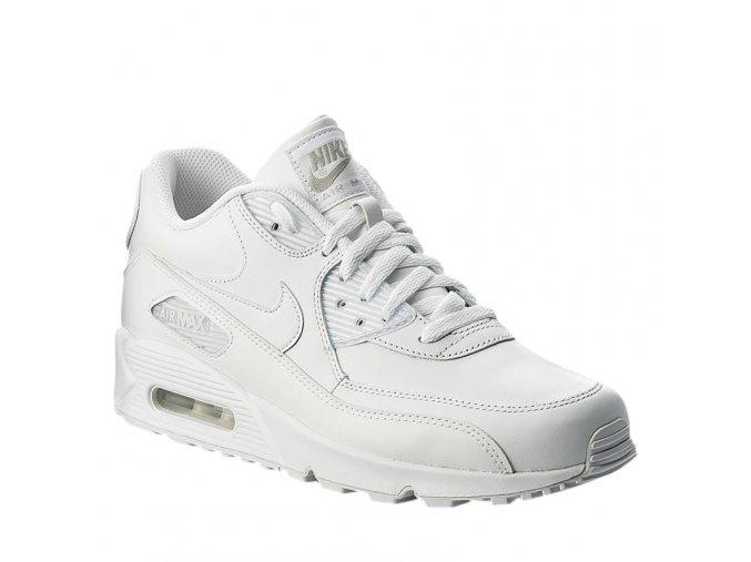 panska vychazkova obuv nike mens nike air max 90 leather shoe true white true white
